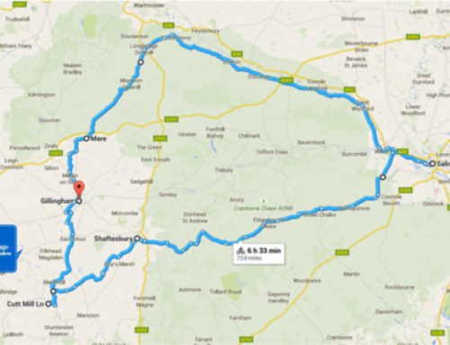 A big bike ride in Dorset and Wiltshire